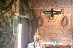 Původně používané věci jsou vystavené v prostorách stodoly